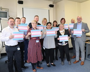 North Manchester staff show their commitment to trans inclusion