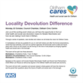 Oldham Cares - Locality Devolution Event