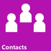 Library Contacts link