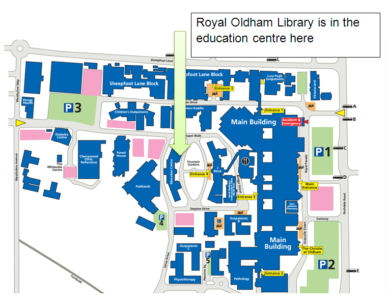 Royal Oldham Hospital Map All about Maps Amp Directions Longwood University   kidskunst.info Royal Oldham Hospital Map