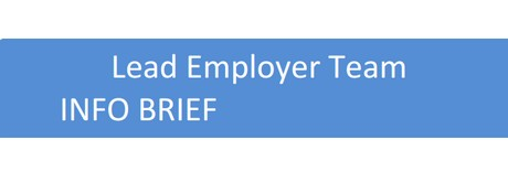 lead Employer Info Brief