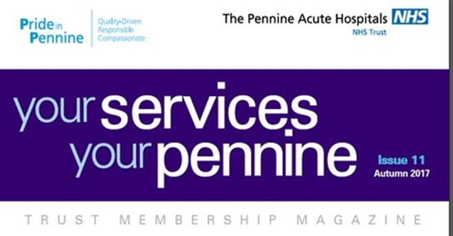 Membership magazine header
