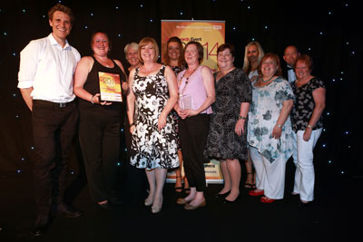 Outstanding contribution to patient care and safety