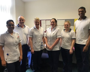 Fairfield physio team members
