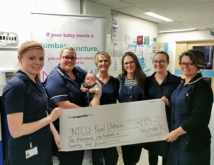 Toddle For Teddy helps raise vital funds for The Royal Oldham's NICU Ward